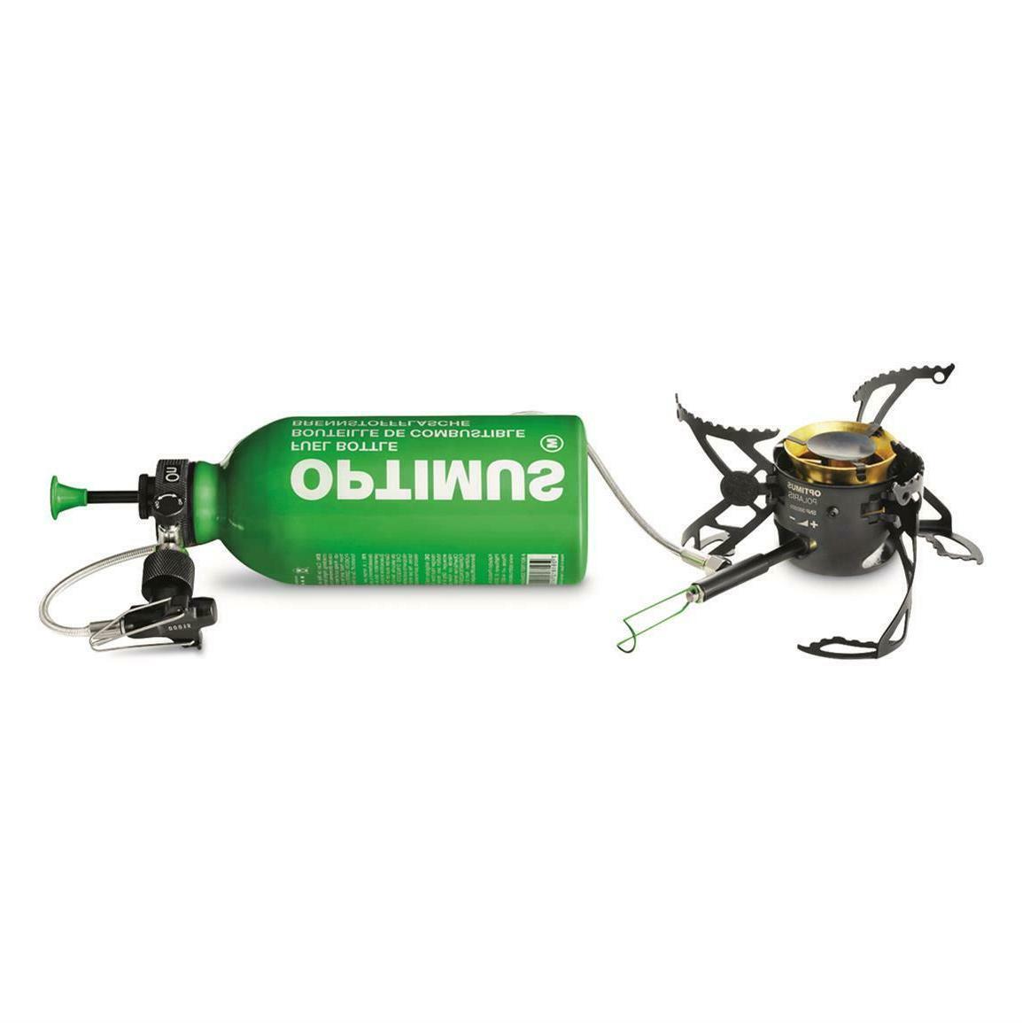 Optimus Polaris Optifuel Stove, with 0.4L Fuel Bottle, multi