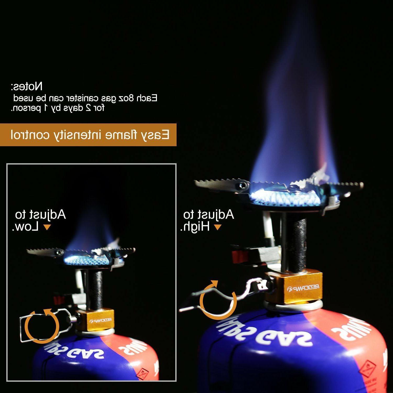 3500W Portable Gas Mini Steel Stove +Case