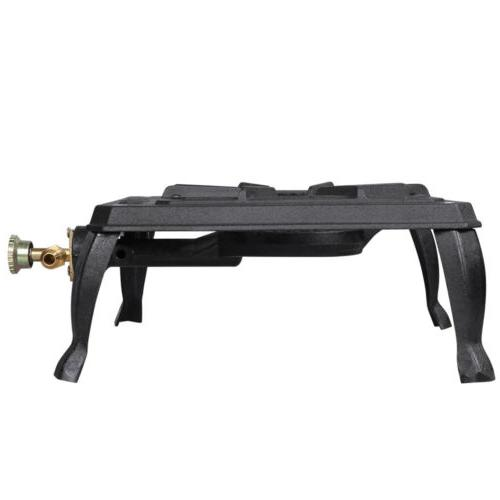 Outdoor Propane Stoves Portable Single Cast Iron Burner LPG