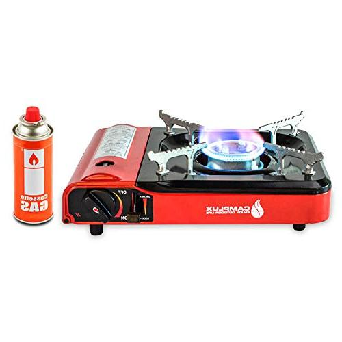 portable camping butane gas stove