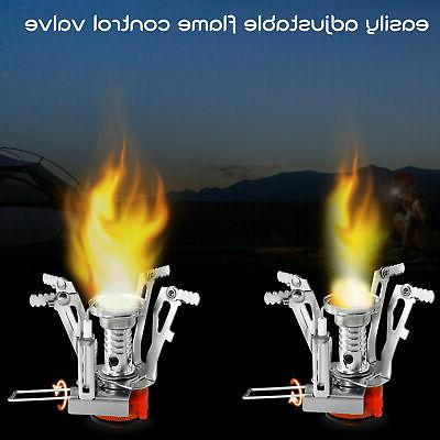 Portable Camping Stove Outdoor Hiking Mini