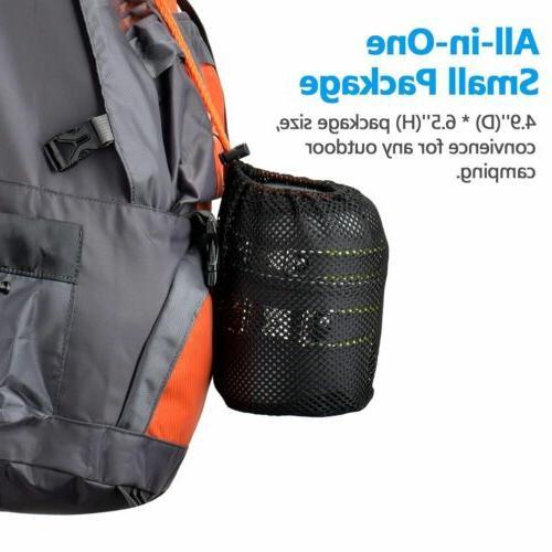 Portable Butane Propane Burner Outdoor Hiking Picnic+