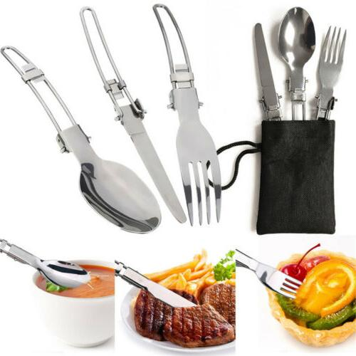 Portable Gas Camping Butane Hiking Picnic+Cookware