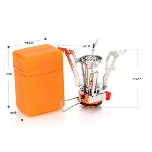 Portable Cooking Mini Stoves Butane Propane Folding