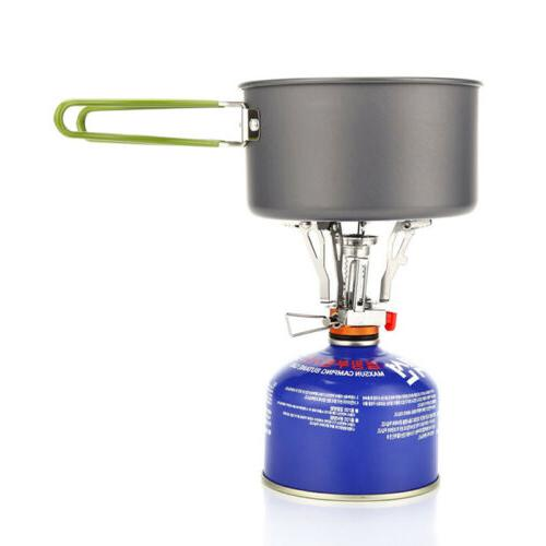 Portable Outdoor Backpacking Cooking Mini Stoves Propane