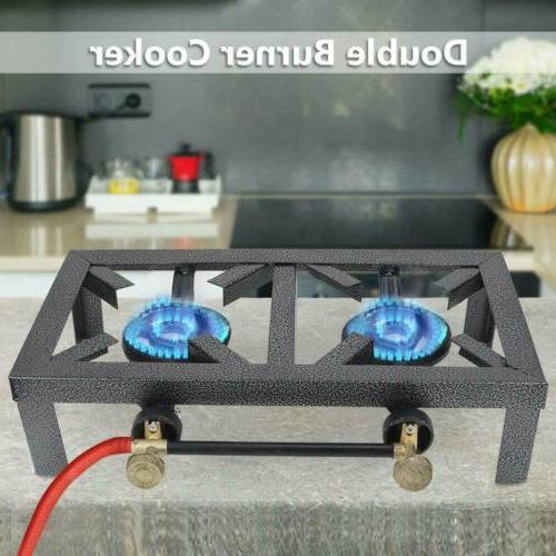 portable propane cooker burner stove gas outdoor