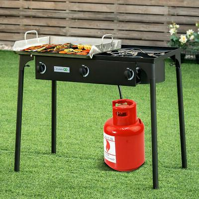 3 Burner Gas Cooker Outdoor Stove