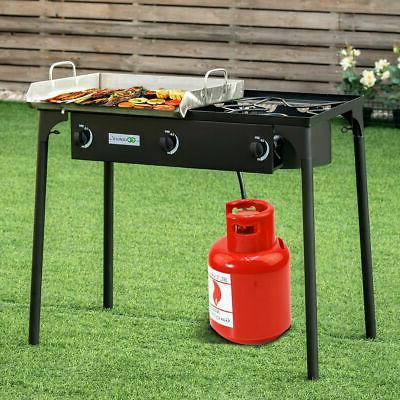 3 Burner Gas Cooker Outdoor Stove