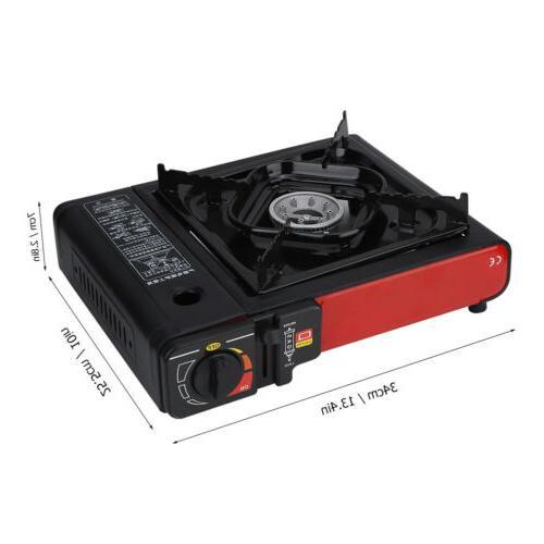 Portable Propane Black Outdoor PRO Gas