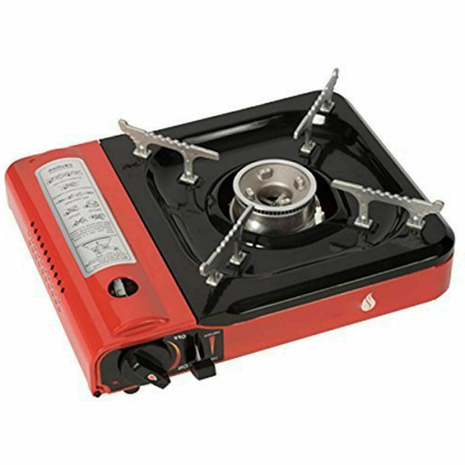 Portable Propane Butane Stove Black PRO Burner
