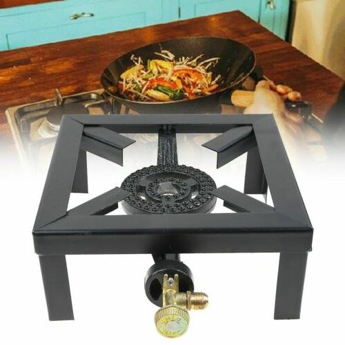 Portable Burner Stove Gas Outdoor Cooking Camping Grill