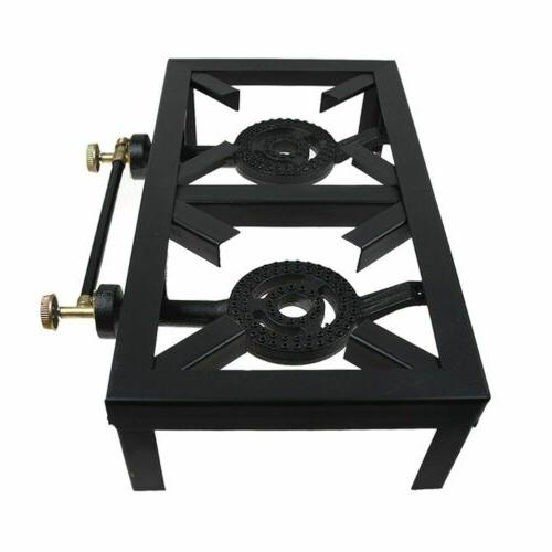 Portable Propane Cooker Stove Cooking Camping BBQ Grill