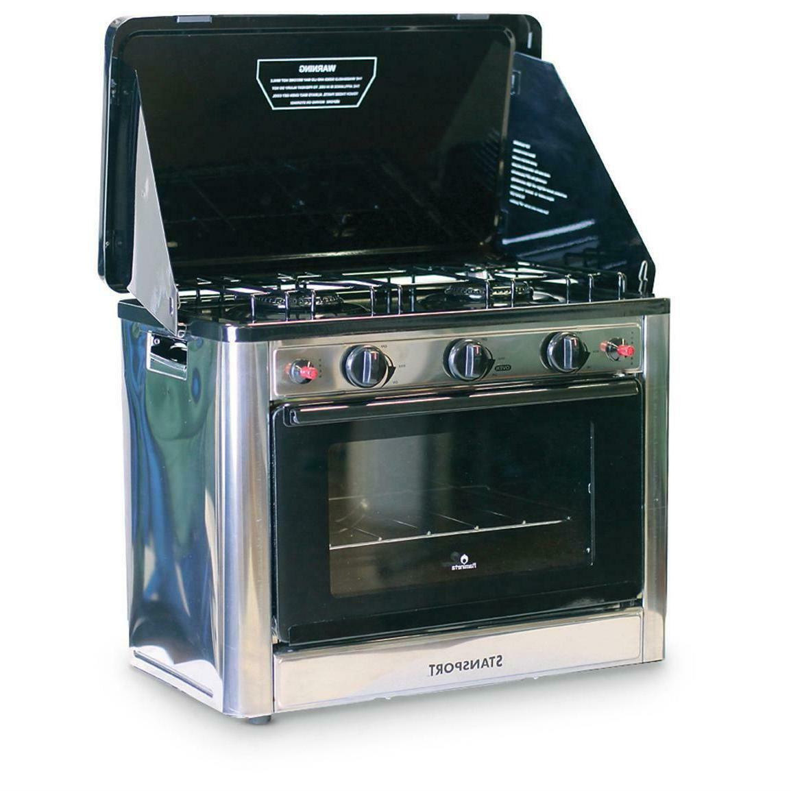 propane camp oven 2 burner