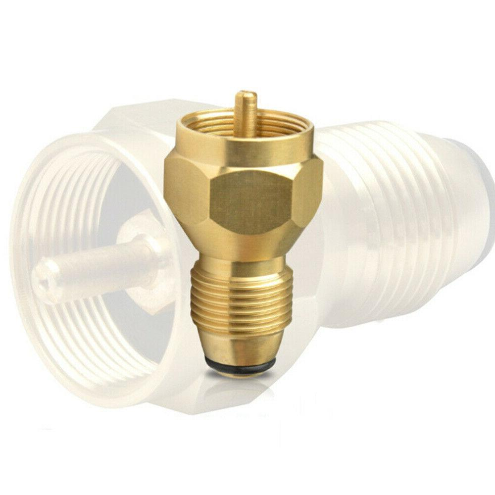 Propane Refill Gas 1 Lb Cylinder Tank Coupler Heater Gas