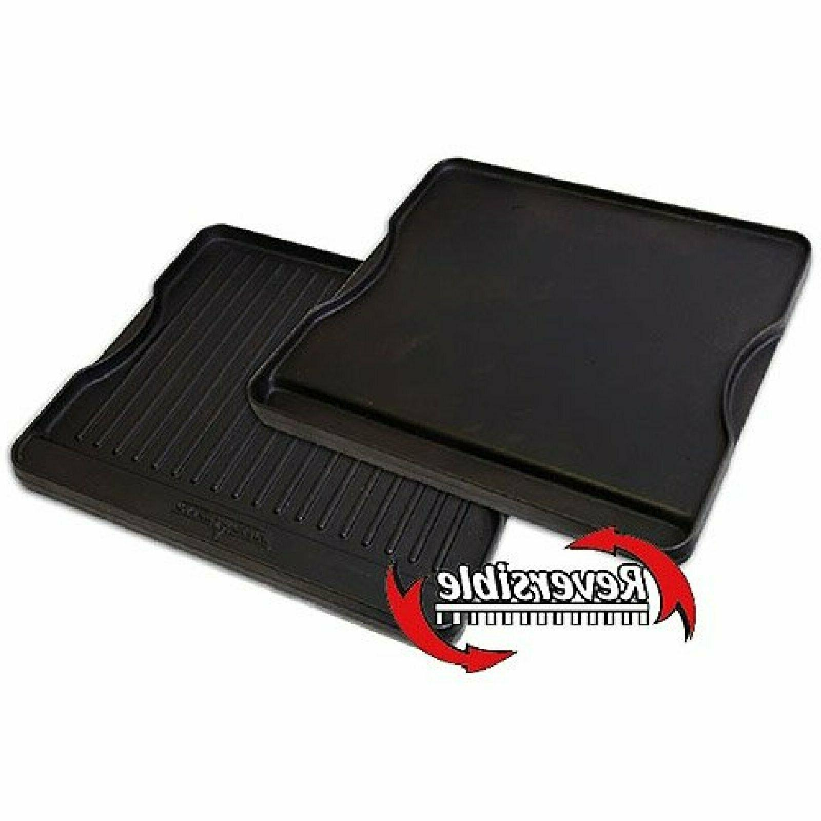 Camp Chef Reversible 2 Sided Cast Iron Griddle-N-Grill Detac
