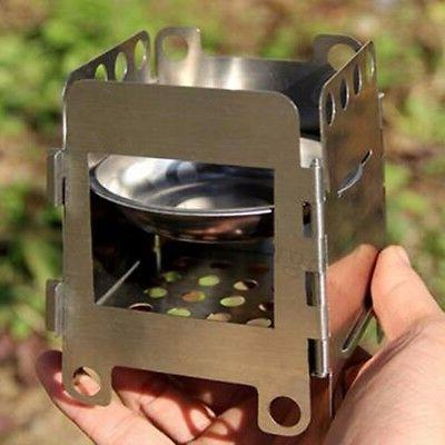 Stainless Wood Stove Outdoor