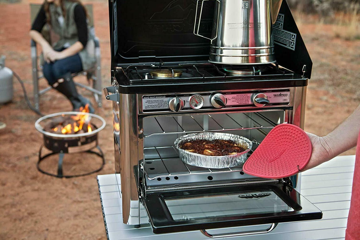 Camp Oven Propane Table Stoves Pizza Camping Portable Range