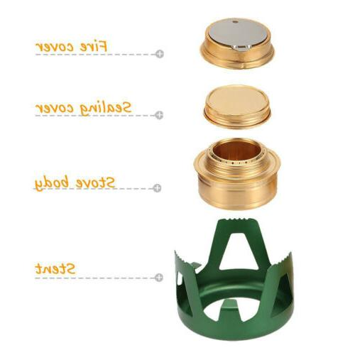 Survival Alcohol Stove Burner For Outdoor