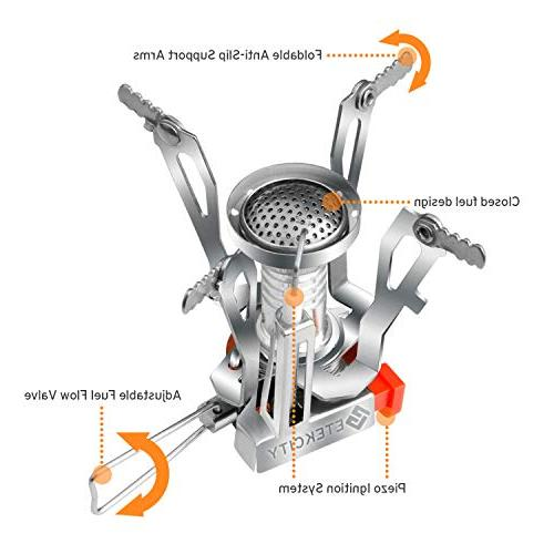 Etekcity Backpacking Stove with Piezo