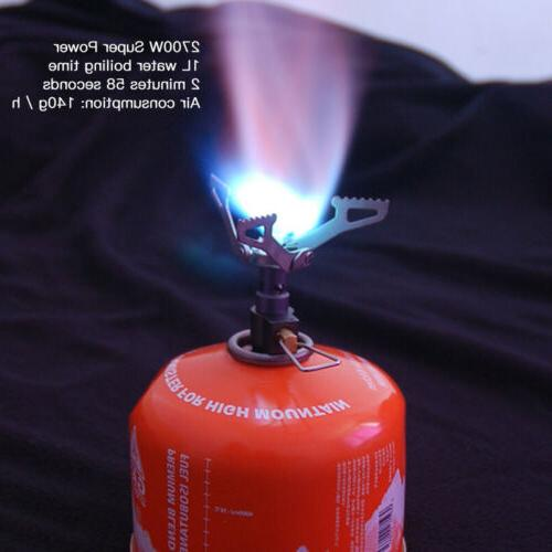 Ultralight Portable Backpacking Gas Butane Propane Camp Gas