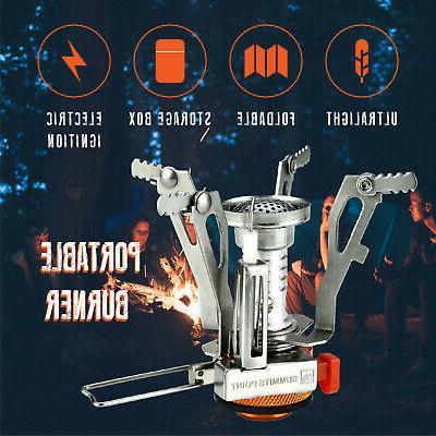 Ultralight Portable Butane Gas Burner