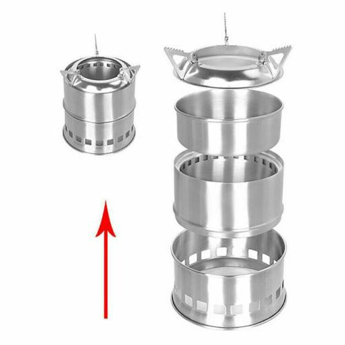US Stove Backpacking Survival Burning
