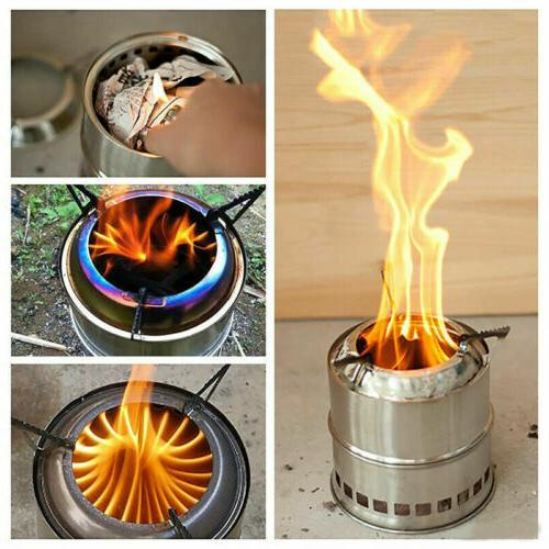 us outdoor wood stove backpacking portable survival