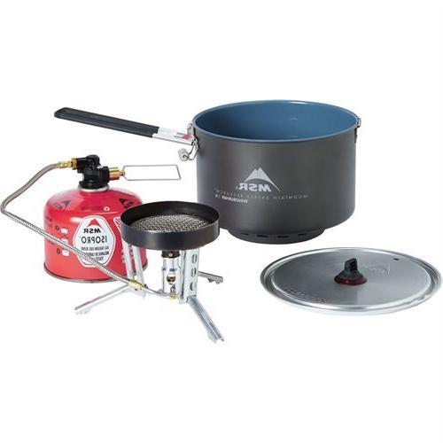 windburner stove cookware group system