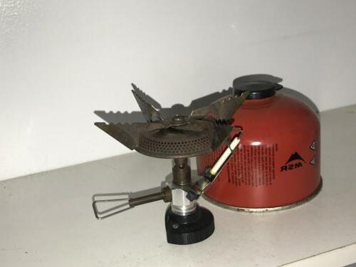 MSR WindPro II Camping Stove Used