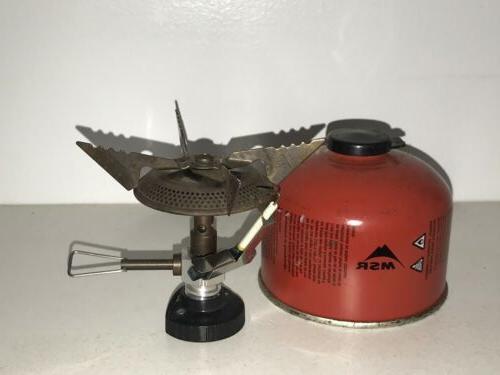 MSR WindPro II Stove Never Used