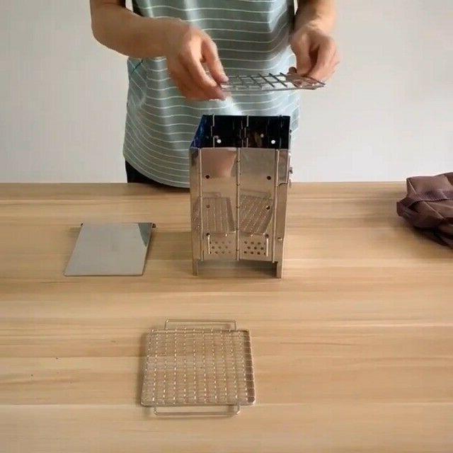 Lixada Stove Folding Backpacking Mini