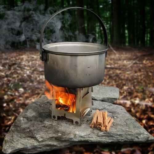 Wood Camping Stove Lightweight
