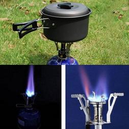 Outdoor Picnic Burners Stove Camping Gas Stove Portable Fold