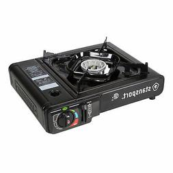 STANSPORT 8000 BTU SINGLE BURNER PORTABLE OUTDOOR BUTANE STO