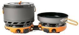 New Jetboil Genesis 2 Burner Stove Cooking System Range Elem