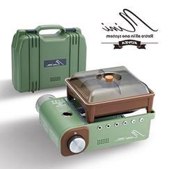 New KOVEA Retro MINI ALL IN ONE SYSTEM Camping Stove,Burner,