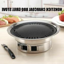 Non-stick Camping Tools Charcoals Grills Stoves Korean Style
