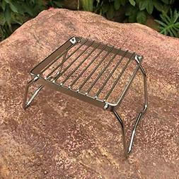 Outdoor Burner Stand,Camping Stove, Wood Stove/Backpacking S