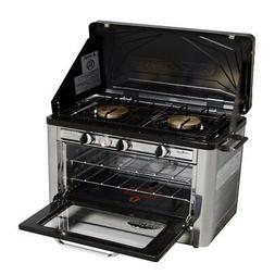 Camp Chef Outdoor Camp Oven with 2 Burner Camping Stove COVE