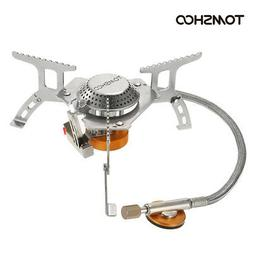 TOMSHOO Outdoor Camping Stove Kit Ultralight Compact Foldabl