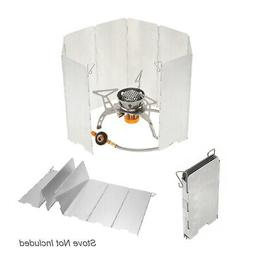 Outdoor Camping Stoves 8Plates Foldable Cooker Gas Stove Scr
