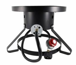 Outdoor Cooking Gas Single Propane Stove Camping Burner for