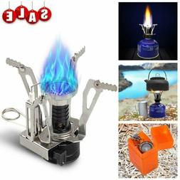 Outdoor Picnic Portable Gas Burner Backpacking Camping Hikin