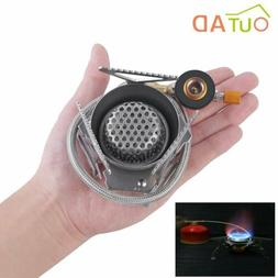 Outdoor Portable Folding Mini Camping Oven Gas Stove Surviva