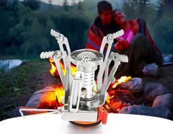 Outdoor portable stoves Wild barbecue gas stoves Camping pic