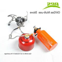 BRS Outdoor Stove Set Camping Cooking Gas Stove Hiking Oil S
