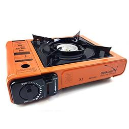 ROM AMERICA Portable Butane Gas Stove Burner Camping Stove w