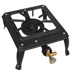Portable Camp Stove Single Burner Cast Iron Propane Gas LPG