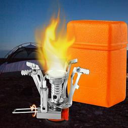 portable camping steel stove outdoor picnic hiking
