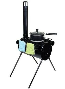 Portable Military Camping Wood Stove Tent Heater Cot Camp Ic